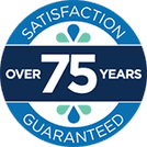 Jayson Company logo highlighting Over 75 Years – Satisfaction Guaranteed