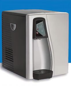 photo of countertop model of bottleless water cooler