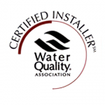 Jayson Commercial Water Conditioning - Image of Water Quality Association Certified Installer logo