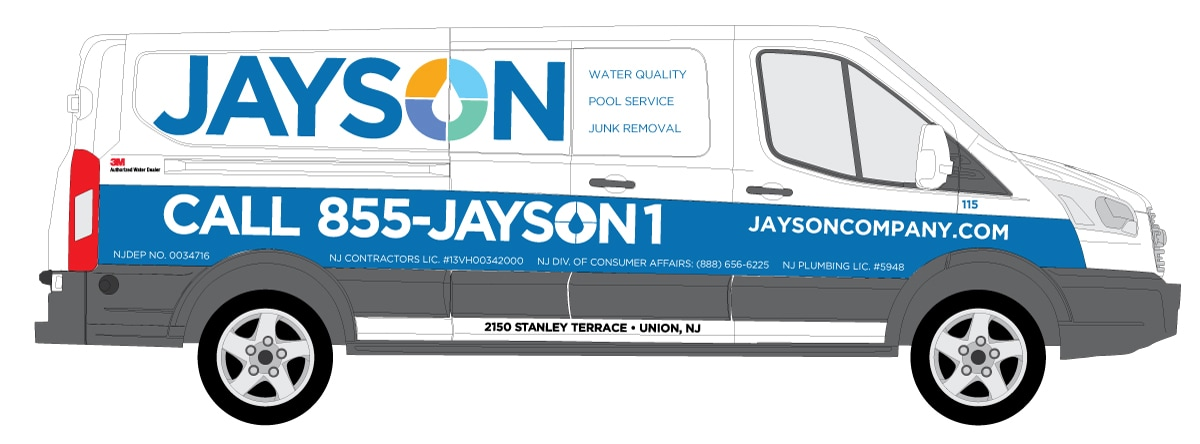 One of Jayson Company's many service vehicles